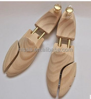 Custom Cedar wood shoe tree, shoe stretcher, shoe keeper