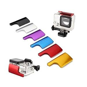 (Random Color) Colorful CNC Aluminum Lock Buckle For GoPro Hero 3+ Protective Housing Case / Colorful CNC Aluminum Lock Buckle For GoPro Hero 3+ Protective Housing Case . . s: . Made of CNC a