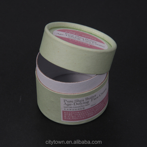 Sinicline custom round shape 4oz paperboard cosmetic jar for face cream