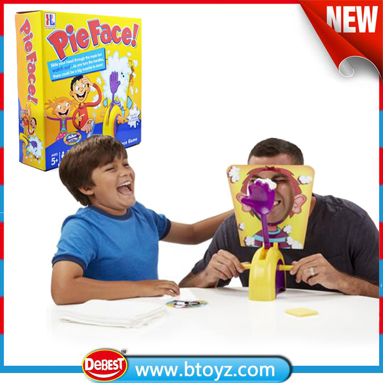 Hot Selling Parent-child Interactive Pie Face Game Machine