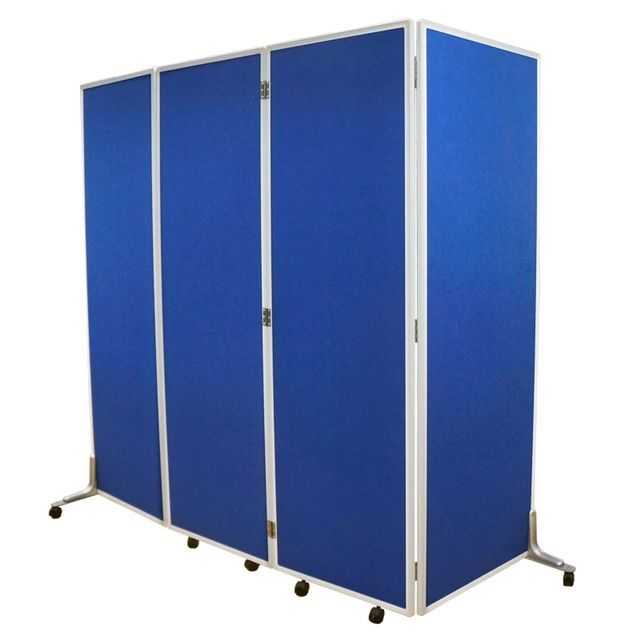 Office furniture foldable pin board divider screen