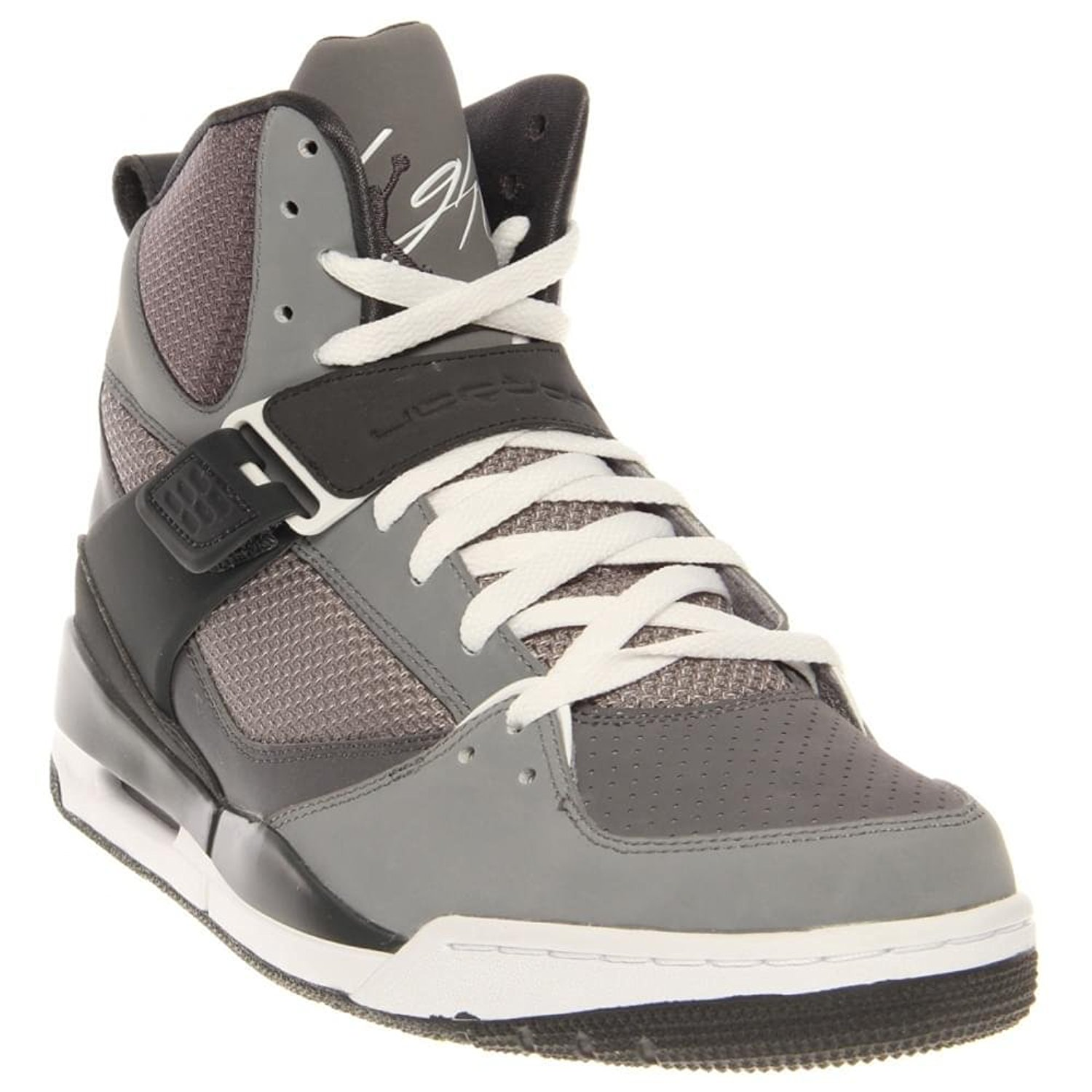 a5640a412d664 Buy Nike Jordan Flight 45 High Men Shoes Sneakers Color: Cool Grey ...