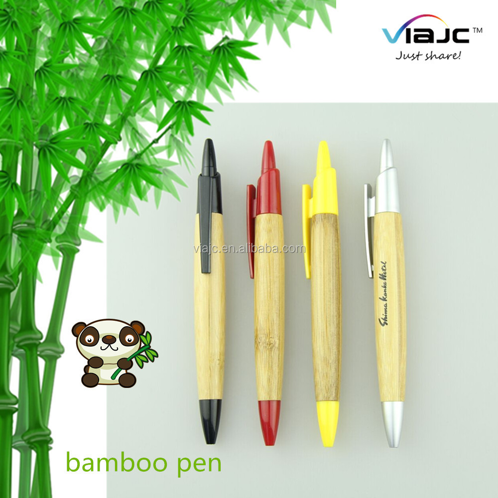 2016 new gift recycled bamboo pen promotional wood pen