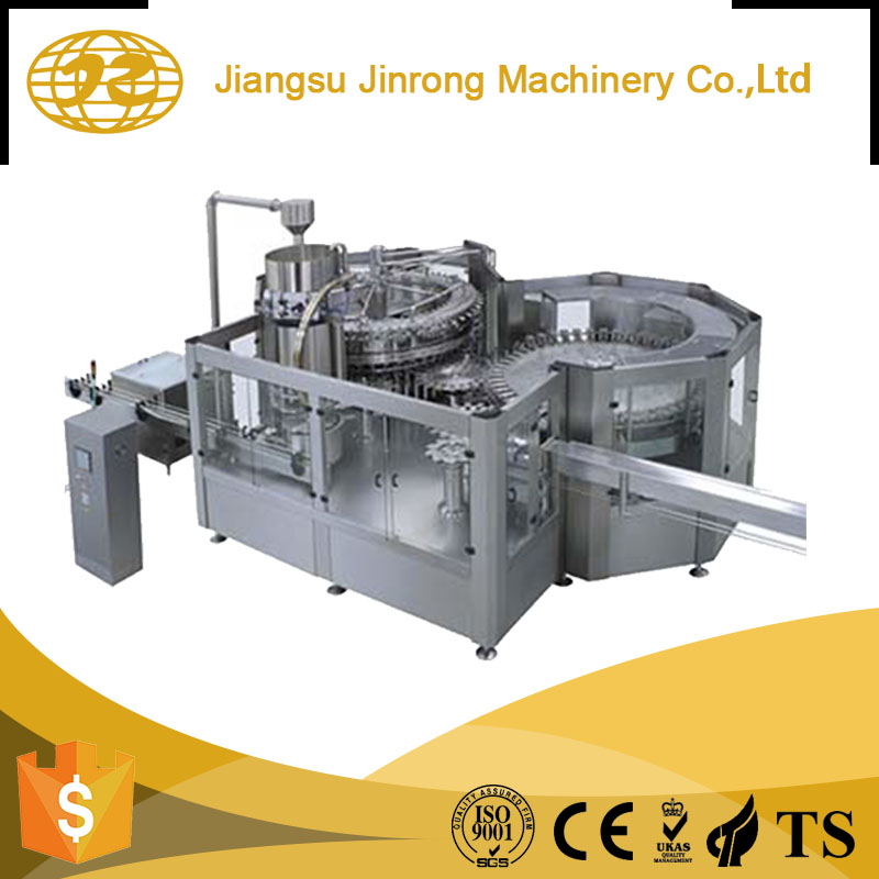Full automatic High Speed 3 - 1 drinking water liquid gas filling machine