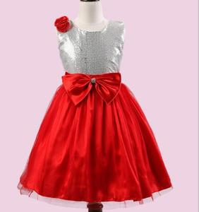 High quality Newest Flower Girl Dress Party Birthday wedding princess Toddler baby Girls Clothes Children Kids Girl Dresses