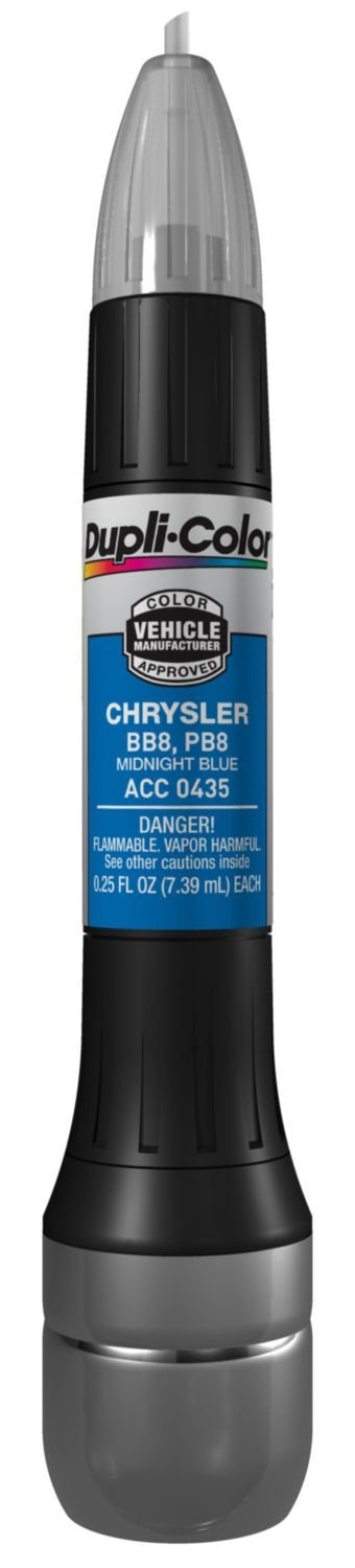 Dupli-Color (ACC0435-12PK) Midnight Blue Chrysler Exact-Match Scratch Fix All-in-1 Touch-Up Paint - 0.5 oz., (Pack of 12)