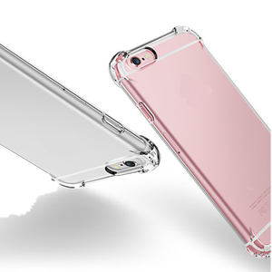 Wholesale Cheap Price Airbag Design Shockproof transparent High Clear TPU Phone Back Cover Case for Samsung Galaxy Note 2