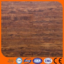 Durable water and fire resistant laminate flooring