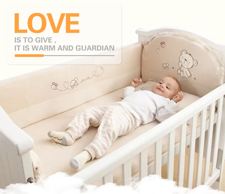 New Pattern Cotton Cover Foam Mattress Baby Sleeping Cradle Nest