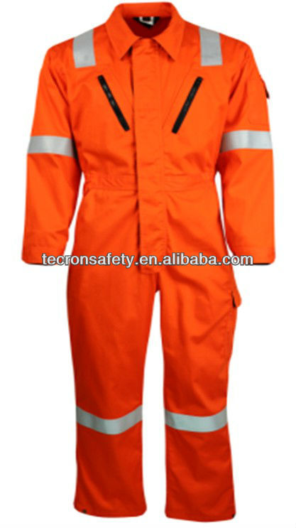 anti flame coverall/Flame and Static Resistant Coverall/FR cotton clothing