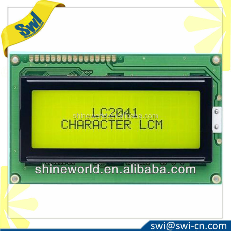 Electronic Shelf Label Character LCD Display