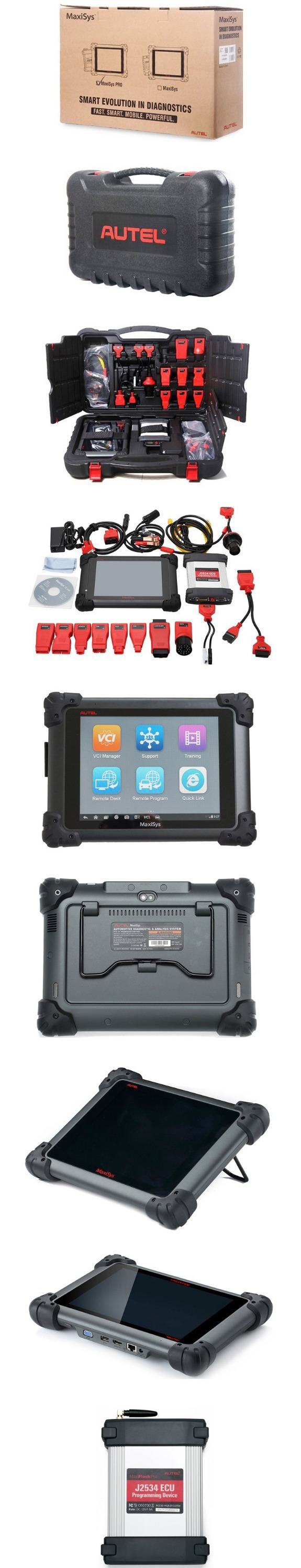 Best Price Autel Maxisys Pro Ms908p Free Update Online J2534 Auto Ecu  Programming Tool For Bmw/mercedes Autel 908 Pro - Buy Auto Ecu Programming