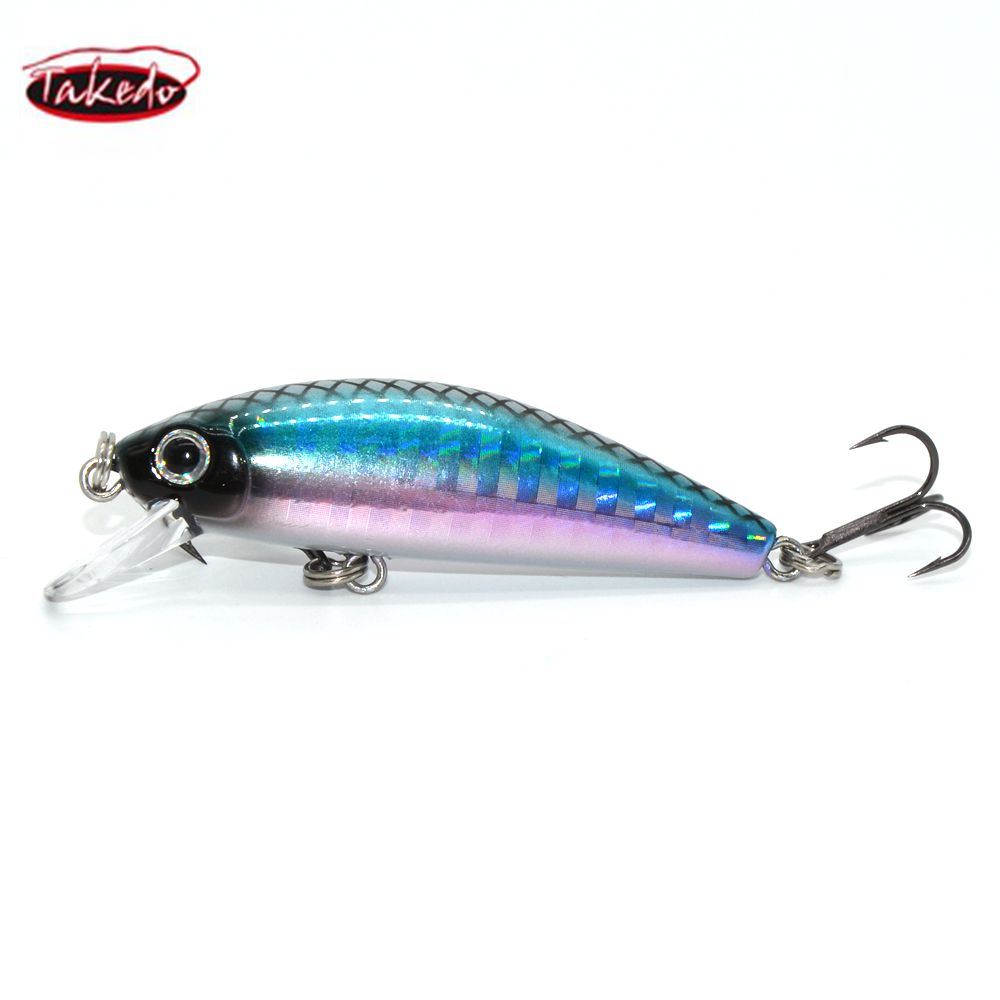 Wholesale wobblers Jerkbait LB50A minnow 50mm 6.5g Sinking Minnow Fishing lures bass lure фото