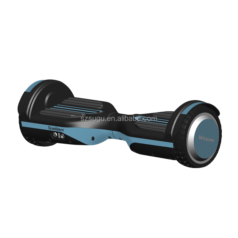 CE ROHS electric hoverboard with samsung battery bluetooth