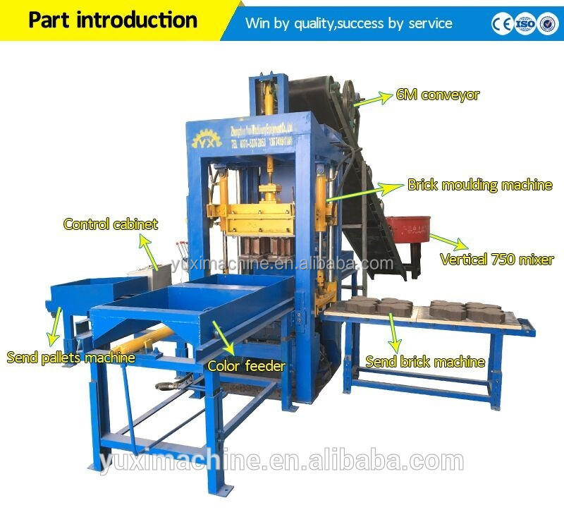 Made in China Cost of Intelligent Hydraulic and Vibrating Bricks Making Machine in Pakista