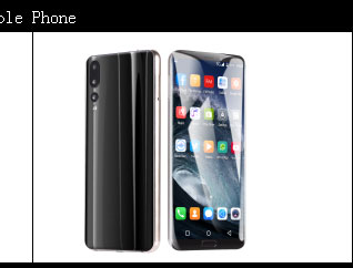 2019 New Full Screen 6.2inch Android Phone 4GB+64GB Octa core Smart phone Fashion OEM China Mobile Phones