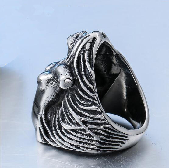2017 Make Fashion Jewelry Antique Stainless Steel Venus Symbol Rings