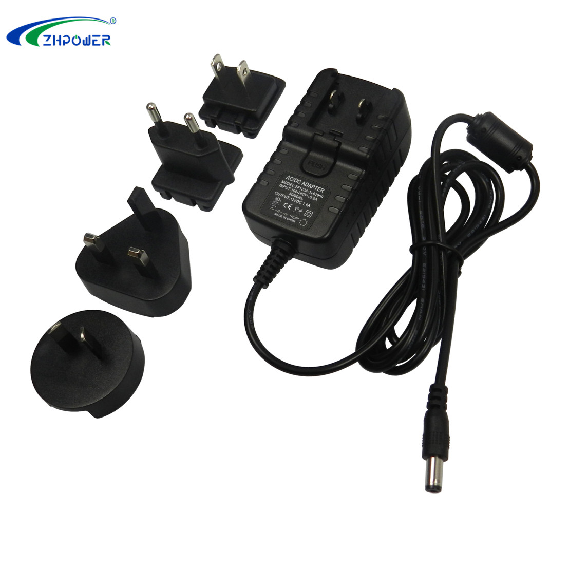 25v power adapter 500ma EU plug in adaptor 25 vdc 0.5a ac/dc adaptor for LED