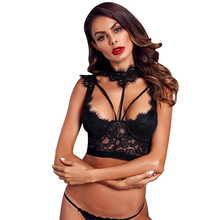 Groothandel Lace Strappy Bustier Sexy crop tops <span class=keywords><strong>voor</strong></span> vrouwen