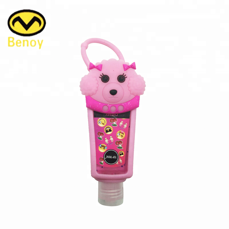 Commercio all'ingrosso Bulk Morbido Anatra Tape Silicone Hand Sanitizer Pocketbac Holder Handmade Per La Vendita
