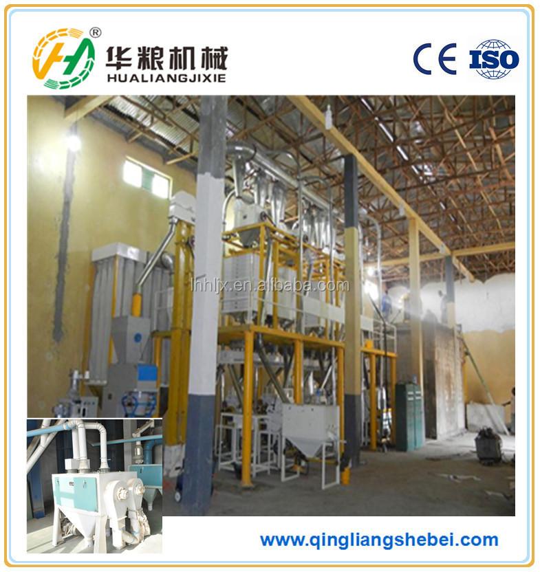 Proceso de producci n de maquinaria molino de harina de - Molino de trigo ...