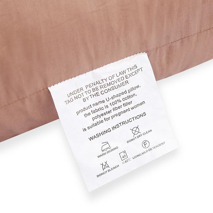 Aangepaste U Vorm Mom Sleep Care Beddengoed Hollow Fiber Ergonomische Total Body Ondersteuning Zwangerschap Moederschap Kussen