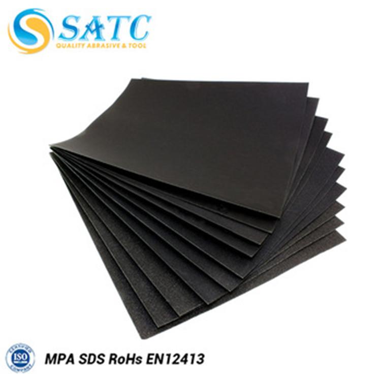 5pk Quality Wet /& Dry Abrasive Sandpaper 80 Grit
