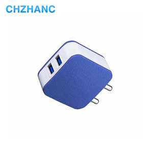 Hot Sale 5VDC 2A 2 Port USB Wall Charger Mobile Phone Travel Charger