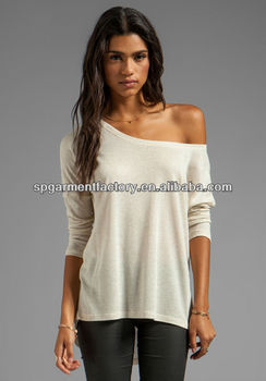 Sexy one shoulder tops