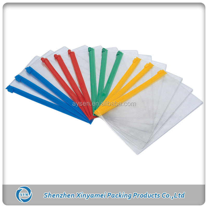 transparent pvc swim cap zip lock bag
