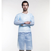 coated plastic apron, coloured plastic apron , reusable plastic apron