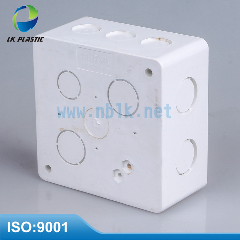 National Standard White PVC waterproof Octagonal electrical box