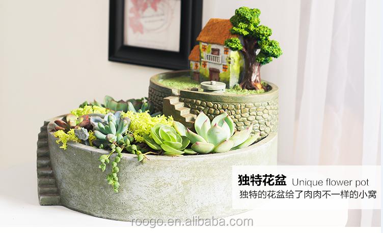 Bureau Mini Pots De Fleurs En Ceramique Creative Jardin