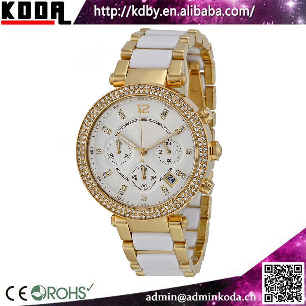 2017 china watch factory luxury brand roles watches men gold plated ladies ceramic watch