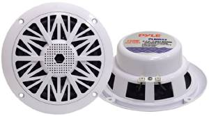 Pyle Hydra PLMR52 Coaxial Speaker. PYLE 5 1/4IN 2-WY MARINE SPEAKER SYSTEM AMSPKR. 2-way - 150W (PMPO)