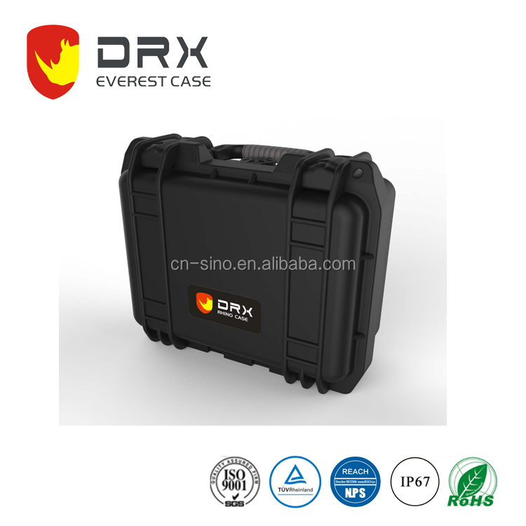 new arrival hard military plastic waterproof crushproof shockproof carrying flight case