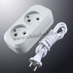 Germany euro outlet type power strip