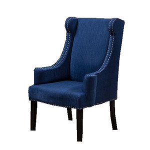 High Back Pudded Fabric Leisure Chair,Living Room Furniture
