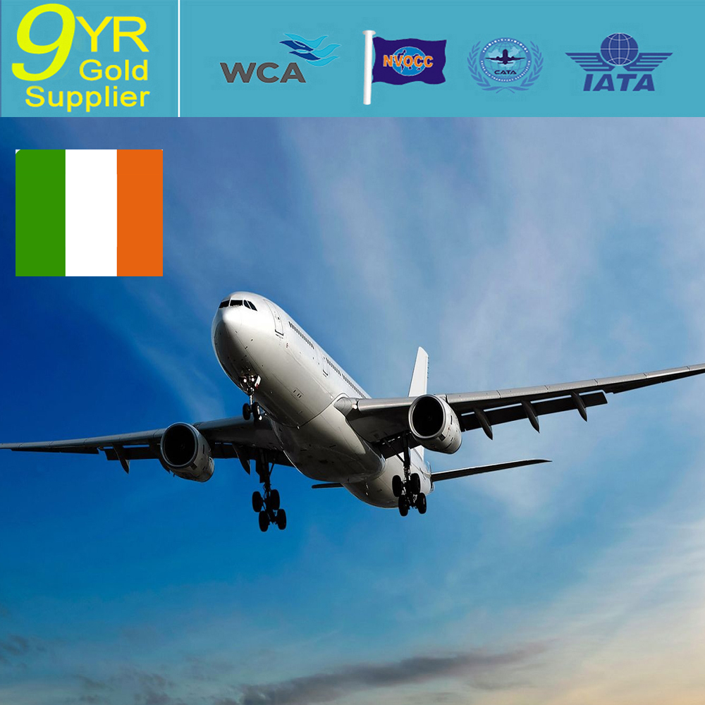 Air freight From China to Dublin Ireland