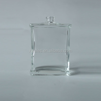 Sample Clear Glass Perfume Bottle Manufacturer