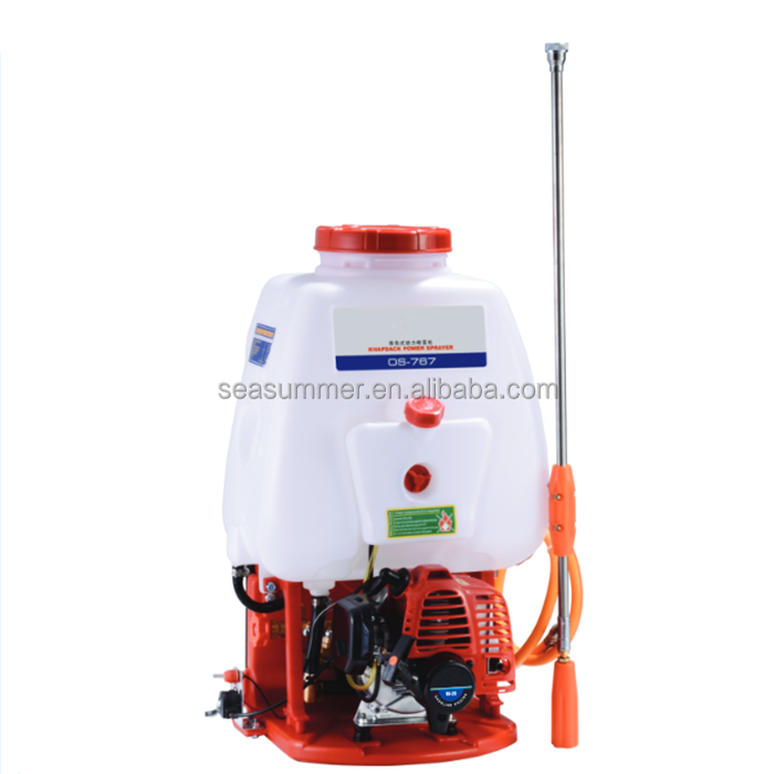 High Quality 2 Stroke Gasoline Engine Sprayer/767 Knapsack Power Sprayer 20L 25L