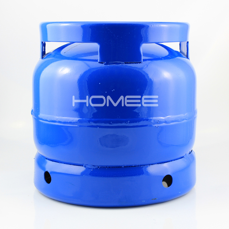 Hot selling 6 kg lege lpg gas cilinder