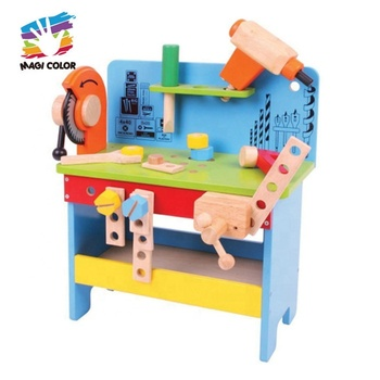 New hottest educational wooden carpenter toys for children W03D118
