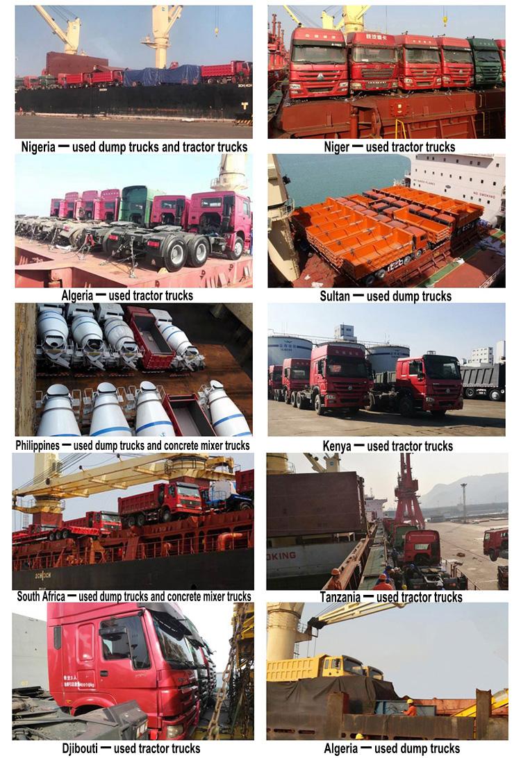 Bron leverancier zware vrachtwagen hoofd gebruikt trailer hoofd, gebruikt howo truck hoofd 6x4 prime mover