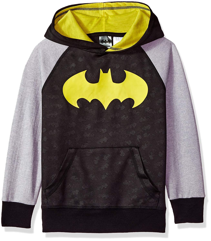 258df0251cc54 Get Quotations · DC Comics Boys  Batman Logo Pullover Hoodie