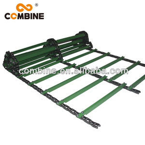 Green Feeder House Slat Conveyor Chain For Agricultural Machinery Parts