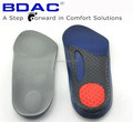 half length arch support foot pad 3/4 pu orthotic insoles