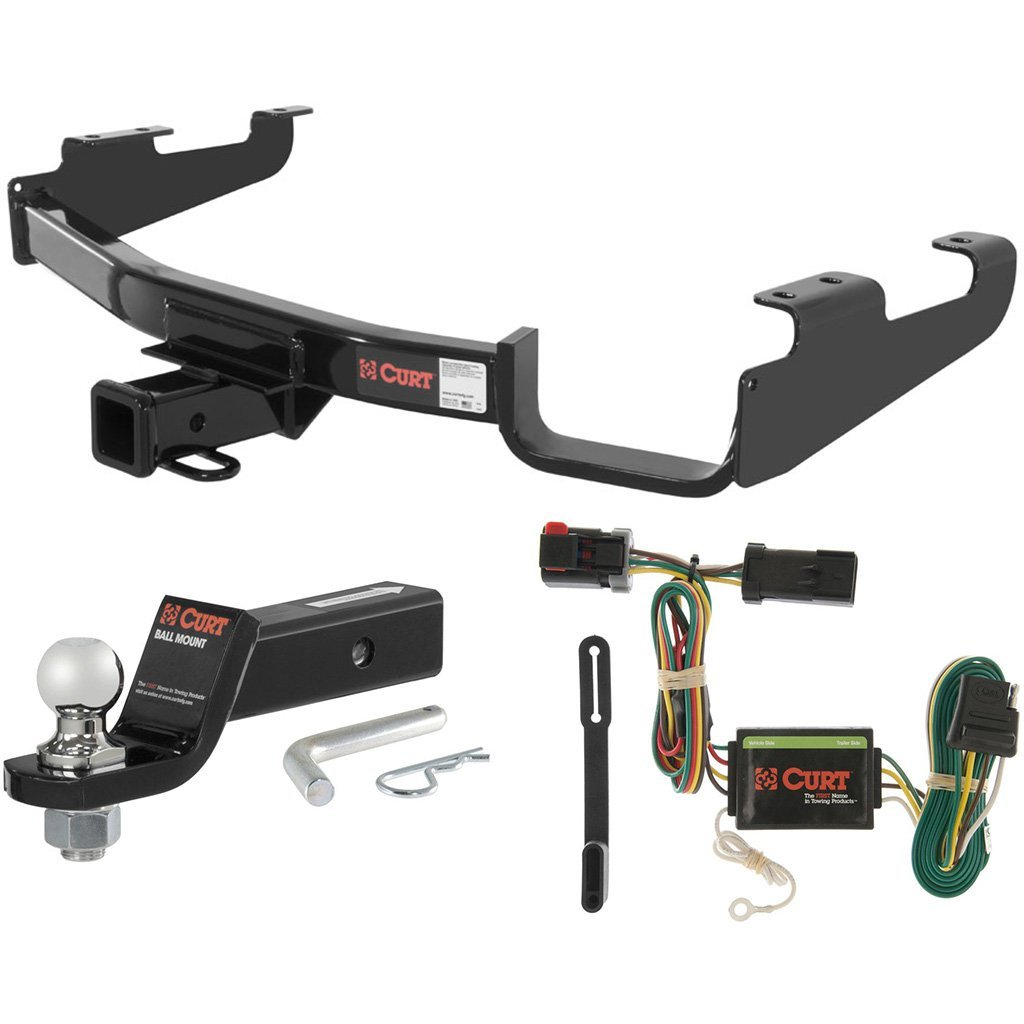 "CURT Class 3 Hitch Tow Package w/ 1-7/8"" Ball for Town & Country, Dodge Caravan"