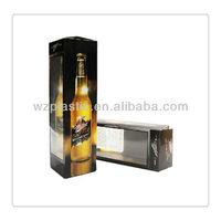 custom high quality plastic wine box