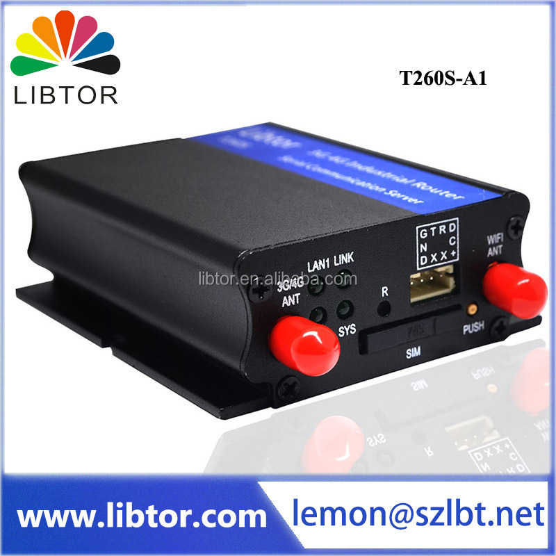 Libtor T260S-A1 Industrial 3g wcdma wireless router 150mbps Industrial 3g router with sim card slot support 3g band